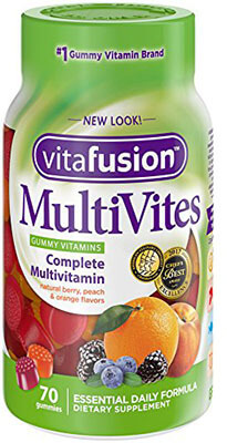 Vitafusion MultiVites Gummy Vitamins, 70 Count