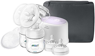 Philips Avent Double- Electric SCF334/22 Breast Pump