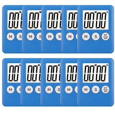 Pack Small Digital Kitchen Timer
