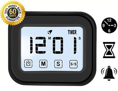 Kitchen Timer Digital Alarm Clock