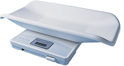 Tanita 1584 Baby Scale, White Digital Scale