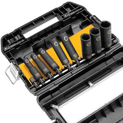 DEWALT 3/8-Inch 10-Piece IMPACT READY Socket Set