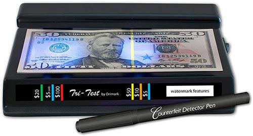 Drimark counterfeit Money Detector