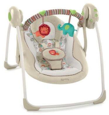 Cozy Kingdom Portable Swing by Ingenuity