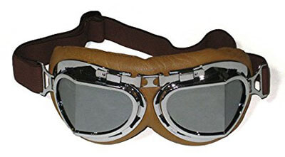 Motorcycle Cruiser Scooter Goggles by CRG Sports
