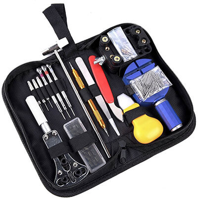 Ohuhu 147 Pieces Watch Repair Tool Kit