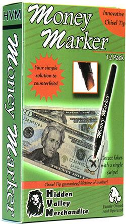 HVM Money Maker Counterfeit Bill Detector Pen