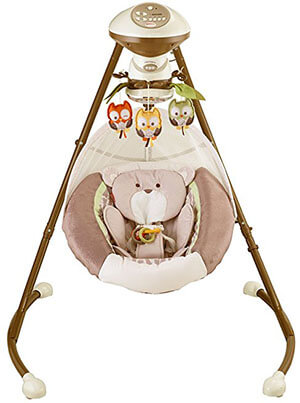 My Little Snugabear Cradle 'N Swing by Fisher-Price