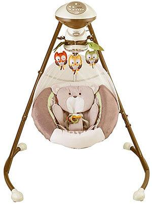 My Little Snugabear Cradle 'N Swing by Fisher-Price