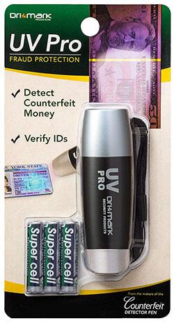 Drimark UVProPlus-B Counterfeit Bill Detector