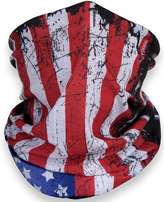 Tough Headwear American Flag Outdoor Motorcycle Mask