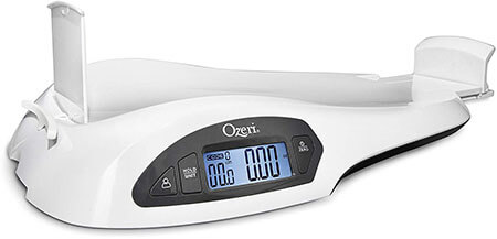 Ozeri and Toddler Scale with Height and weight Change Detection
