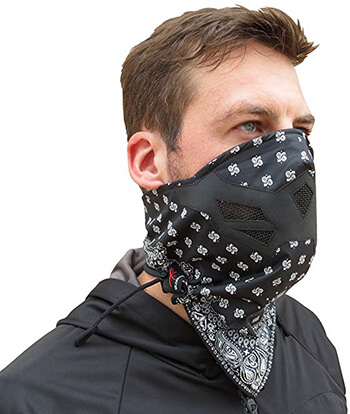 Grace Folly Half Face Motorcycle Mask