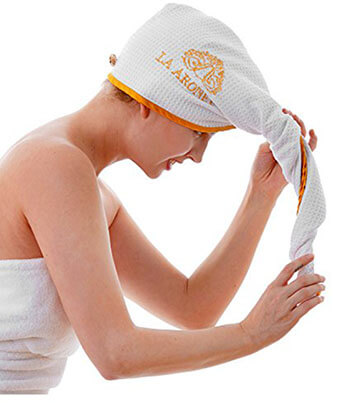 Royelle Microfiber Luxury Hair Towel