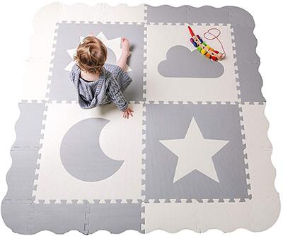Childlike Behavior Baby Play Mat