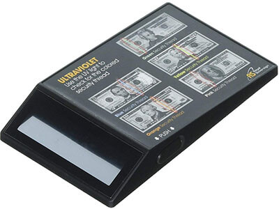 Royal Sovereign RCD-UVP Counterfeit Bill Detector