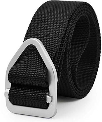 UltraKey Military Style Nylon Tactical Belt for Outdoor Sports