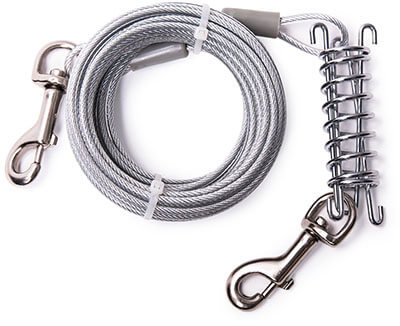 MFPS Favorite 30 Feet Tie Out Cable for Dogs