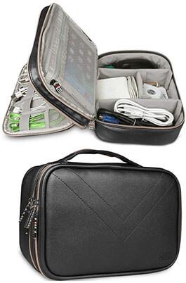 HOOYEE Electronics Travel Organizer Bag