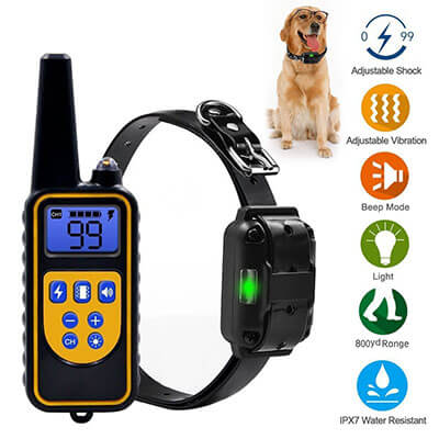 YiPet Remote Dog Training Collar