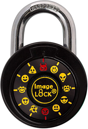 IMAGELOCK Combination Lock with Fun Emojis