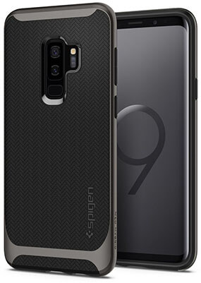 Spigen Neo Hybrid Galaxy S9 Plus Case with Reinforced Hard Bumper Frame