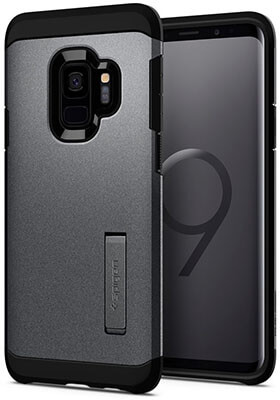 Spigen Tough- Armor Galaxy S9 Case, Reinforced Kickstand