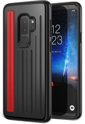 YOUMAKER Rugged Slim Fit Heavy Duty Case Cover for Samsung Galaxy S9