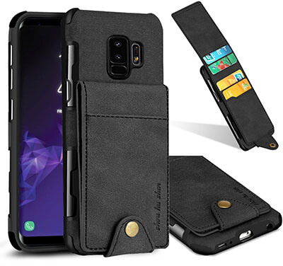 CXCase Flip-Out Galaxy S9 plus Wallet Case