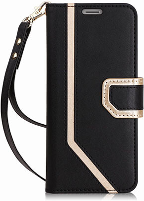 FYY Galaxy S9 plus Case, Mirror Leather interior