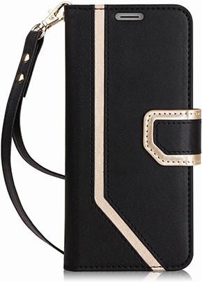 FYY Galaxy S9 Plus Case, Mirror Leather Interior