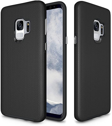 GSDCB Air Cushion Armor Heavy Duty Galaxy S9 Case