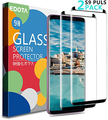 Royu Samsung Galaxy S9 Plus Screen Protector 2 Pack