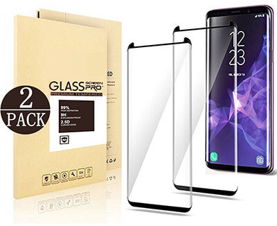 EcoPestuGo Samsung Galaxy S9 PlusTempered Glass Screen Protector
