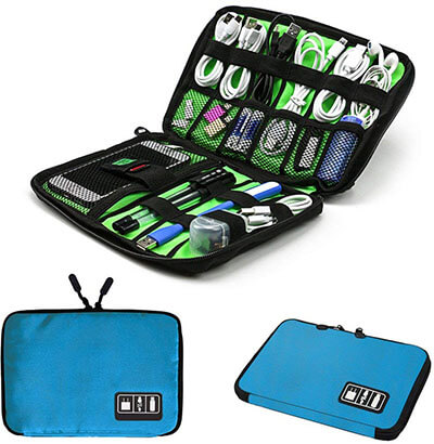 iZerich Electronic Accessory Travel Bag
