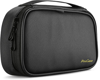 ProCase Travel Electronics Cable Organizer Bag