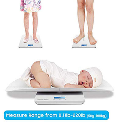 MomMed Multi-functional Toddler/pet Scale