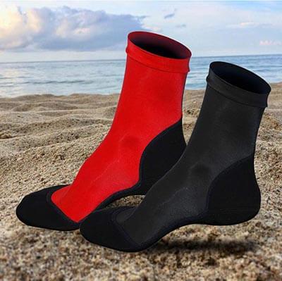 L&SportsBeach Socks 2 Pairs Neoprene