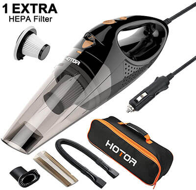 HOTOR Corded Car Vacuum