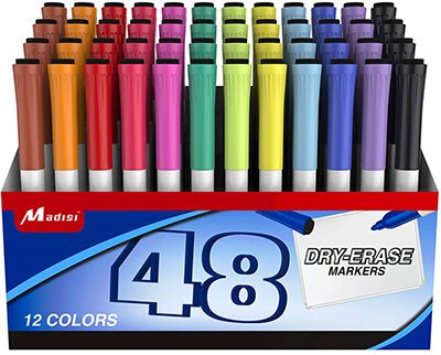 Dry Erase Markers by Madisi