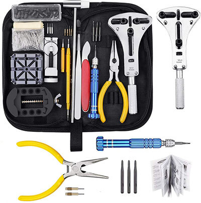 Baban Watch Repair Kit, Professional Spring Bar Tool Set 168 Pieces