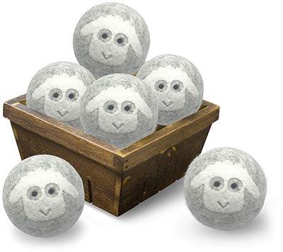 MG MUIGORE Wool Dryer Balls Organic New Zealand Natural Fiber Softener