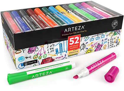 ARTEZA Dry Erase Markers