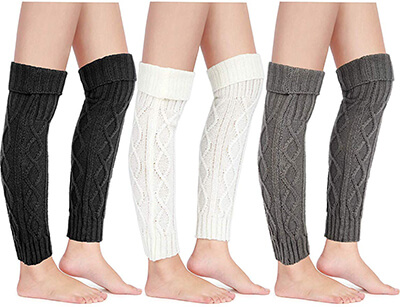 Satinior Leg Warmer