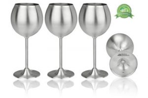 Top 10 Best Stainless Steel Wine Glasses in 2018