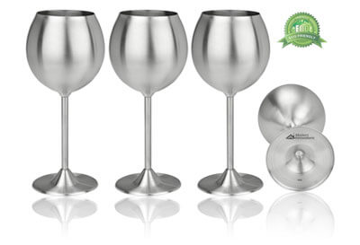 Top 10 Best Stainless Steel Wine Glasses in 2019 Reviews