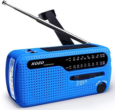 KOZO Best NOAA Weather Radio for Emergency with Strong Reception