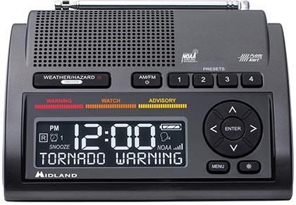 Midland WR400 Deluxe NOAA Emergency Weather Alert Radio with 80 Alerts