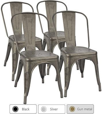 Furmax Metal Dining Chair