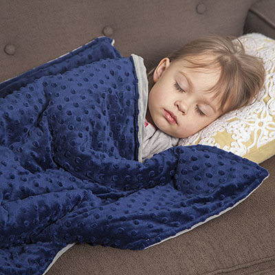 FWY Home Goods Weighted Blanket for Kids